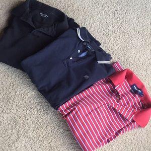 Men's polo short sleeves